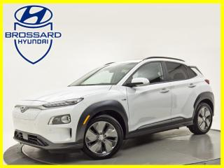Used 2019 Hyundai KONA Electric Ultimate CUIR TOIT OUVRANT GPS BLUETOOTH for sale in Brossard, QC