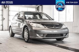 Used 2004 Honda Civic LX chez Rimouski Hyundai for sale in Rimouski, QC