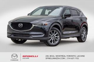 Used 2019 Mazda CX-5 Signature GPS Cuir Nappa Bose Head up Display 2019 CX-5 Signature for sale in Lachine, QC