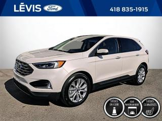 Used 2019 Ford Edge Titanium AWD for sale in Lévis, QC