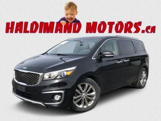 Used 2017 Kia Sedona SX LIMITED for sale in Cayuga, ON