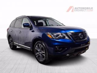 Used 2017 Nissan Pathfinder PLATINUM AWD CUIR TOIT MAGS NAV TV/DVD for sale in St-Hubert, QC