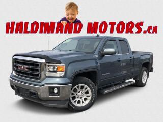 Used 2014 GMC Sierra 1500 SLE DBLE CAB Z71 4WD for sale in Cayuga, ON