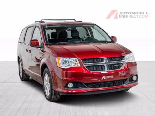 Used 2020 Dodge Grand Caravan Crew Plus Cuir GPS Stow N'Go DVD A/C Mags for sale in St-Hubert, QC