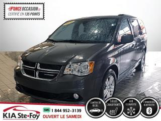 Used 2020 Dodge Grand Caravan CREW* CUIR* CAMERA* STOW'N'GO* SIEGES CH for sale in Québec, QC