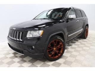 Used 2011 Jeep Grand Cherokee OVERLAND* 5.7* V8* 4X4* CUIR* TOIT-PANO-ROOF* for sale in St-Hubert, QC