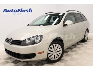 Used 2011 Volkswagen Golf Wagon 2.5L DSG WAGON * A/C* CRUISE* EXTRA-CLEAN for sale in St-Hubert, QC