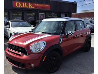 Used 2014 MINI Cooper Countryman ALL4-S-TOIT PANORAMIQUE-AWD-BLUETOOTH-SIEGES CHAUF for sale in Laval, QC