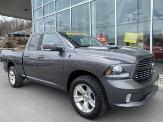 Used 2014 RAM 1500 SPORT , QUAD , DIFF 3.92 , SIÈGE CHAUFFA for sale in Ste-Agathe-des-Monts, QC