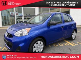 Used 2015 Nissan Micra S for sale in Sorel-Tracy, QC