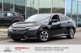 Used 2018 Honda Civic LX AUTO CRUISE BLUETOOTH AUTO AC CRUISE BLUETOOTH BAS KM for sale in Lachine, QC