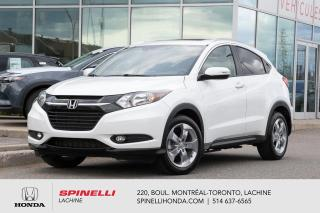 Used 2017 Honda HR-V EX-L AWD CUIR w/NAVI BAS KM AWD NAVI CUIR BAS KM TOIT OUVRANT++ for sale in Lachine, QC