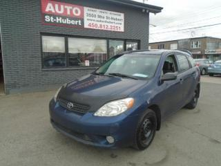 Used 2006 Toyota Matrix for sale in St-Hubert, QC