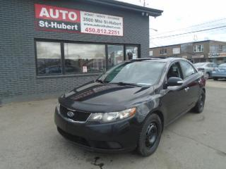 Used 2010 Kia Forte EX TOIT OUVRANT for sale in St-Hubert, QC