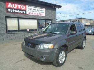 Used 2005 Ford Escape XLT 4WD  ** 136 000 KM CERTIFIÉ ** for sale in St-Hubert, QC