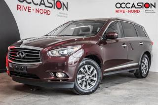 Used 2015 Infiniti QX60 6-PASS+NAVI+CUIR+TOIT.OUVRANT for sale in Boisbriand, QC