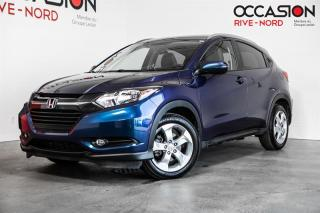 Used 2016 Honda HR-V EX-L AWD NAVI+CUIR+TOIT.OUVRANT for sale in Boisbriand, QC