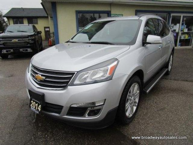 2014 Chevrolet Traverse FAMILY MOVING 1-LT EDITION 7 PASSENGER 3.6L - V6.. CAPTAINS.. THIRD ROW.. HEATED SEATS.. BACK-UP CAMERA.. TOW SUPPORT.. KEYLESS ENTRY..
