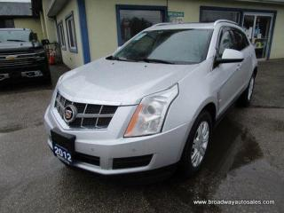 Used 2012 Cadillac SRX LOADED LUXURY EDITION 5 PASSENGER 3.6L - V6.. LEATHER.. HEATED SEATS.. PANORAMIC SUNROOF.. BACK-UP CAMERA.. BLUETOOTH SYSTEM.. BOSE AUDIO.. for sale in Bradford, ON
