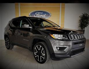 Used 2017 Jeep Compass LIMITED - 4X4 - CUIR/GPS - BAS PRIX for sale in Drummondville, QC