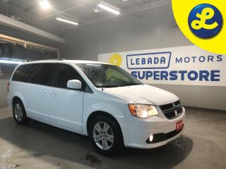 Used 2019 Dodge Grand Caravan Crew Plus * Navigation * Over Head DVD Player W/ HDMI & AV Inputs * Heated Leather Seats *  Dual Climate Control * Cruise Control * Steering Wheel Con for sale in Cambridge, ON