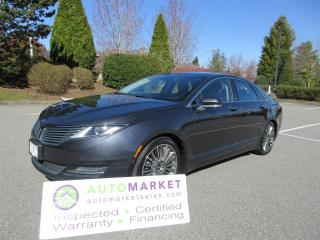 Used 2013 Lincoln MKZ HYBRID MKZ, TECHNOLOGY & PREFERRED PACKAGE, INSPECTED, FINANCING, WARRANTY & BCAA MEMBERSHIP! for sale in Surrey, BC