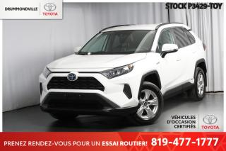 Used 2019 Toyota RAV4 HYBRID| INTÉGRALE| SAFETY SENSE for sale in Drummondville, QC