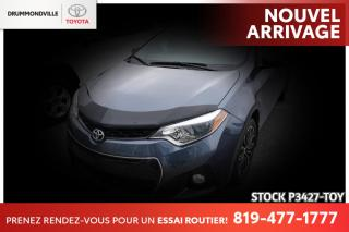 Used 2016 Toyota Corolla S / GROUPE AMÉLIORÉ / TOIT OUVRANT for sale in Drummondville, QC