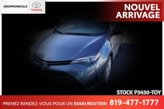 Used 2017 Toyota Corolla AUTOMATIQUE / GARANTIE PROLONGÉE for sale in Drummondville, QC