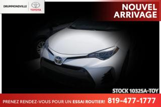 Used 2018 Toyota Corolla XSE| BOUTON POUSSOIR| TOIT for sale in Drummondville, QC