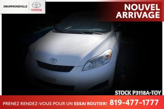 Used 2011 Toyota Matrix AUTOMATIQUE| CLIMATISATION RARE! for sale in Drummondville, QC