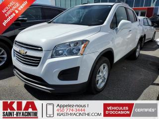 Used 2016 Chevrolet Trax LT AWD ** CAMÉRA DE RECUL / MAGS for sale in St-Hyacinthe, QC