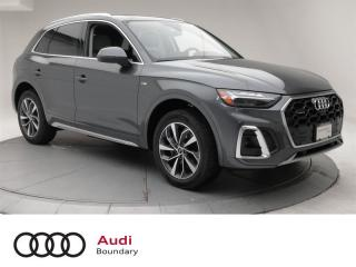 Used 2021 Audi Q5 45 2.0T Technik quattro 7sp S Tronic for sale in Burnaby, BC