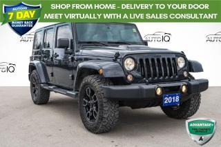 Used 2018 Jeep Wrangler JK Unlimited Sahara LOW MILEAGE SAHARA for sale in Innisfil, ON