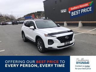 Used 2019 Hyundai Santa Fe Luxury for sale in Sudbury, ON