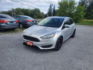 Used 2015 Ford Focus SE w/ BACK UP CAMERA SUNROOF CERTIFIED for sale in Stouffville, ON
