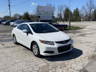 Used 2012 Honda Civic LX for sale in Komoka, ON