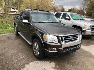 Used 2008 Ford Explorer Sport Trac LIMITED for sale in Mount Brydges, ON