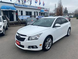 Used 2013 Chevrolet Cruze LT Turbo for sale in Stoney Creek, ON