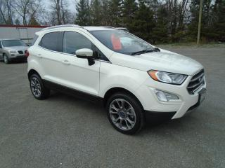 Used 2019 Ford EcoSport Titanium AWD for sale in Beaverton, ON
