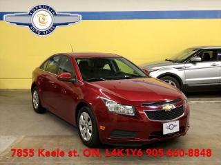 Used 2012 Chevrolet Cruze LT Turbo w/1SA, AUTO, 2 Years Warranty for sale in Vaughan, ON