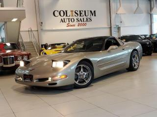 Used 1999 Chevrolet Corvette COUPE-6 SPEED-GLASS TARGA for sale in Toronto, ON