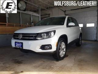 Used 2017 Volkswagen Tiguan Wolfsburg Edition/LEATHER.AWD!! for sale in Barrie, ON