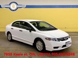 Used 2010 Honda Civic DX-G Only 68K km, 2 Years Warranty for sale in Vaughan, ON