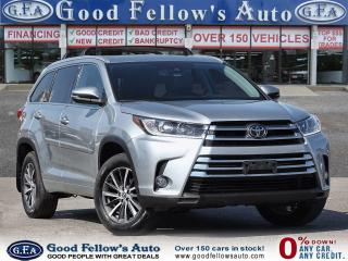 Used 2017 Toyota Highlander XLE AWD, SUNROOF, 8 PASS, BACKUP CAM, NAVI, LDW for sale in Toronto, ON