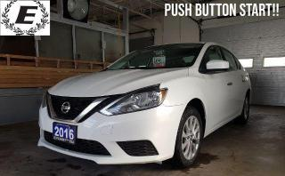 Used 2016 Nissan Sentra SV IWTH PUSH BUTTON START!! for sale in Barrie, ON