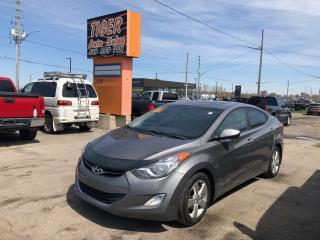 Used 2011 Hyundai Elantra GLS**SUNROOF**ALLOYS**AUTO**LOADED**CERTIFIFED for sale in London, ON