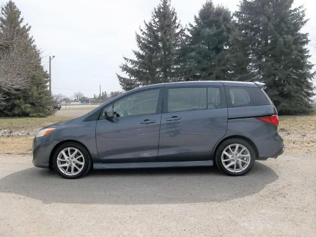 2012 Mazda MAZDA5 GT-2.5L/ ONE OWNER/ 3RD ROW SEAT