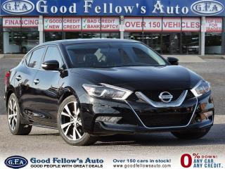 Used 2017 Nissan Maxima SL 3.5L 6CYL, REARVIEW CAMERA, LEATHER SEATS, NAVI for sale in Toronto, ON