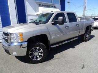 Used 2008 Chevrolet Silverado 2500 LT Z714x4, Crew Diesel, LIFT, DPF Delete, BFG's for sale in Langley, BC